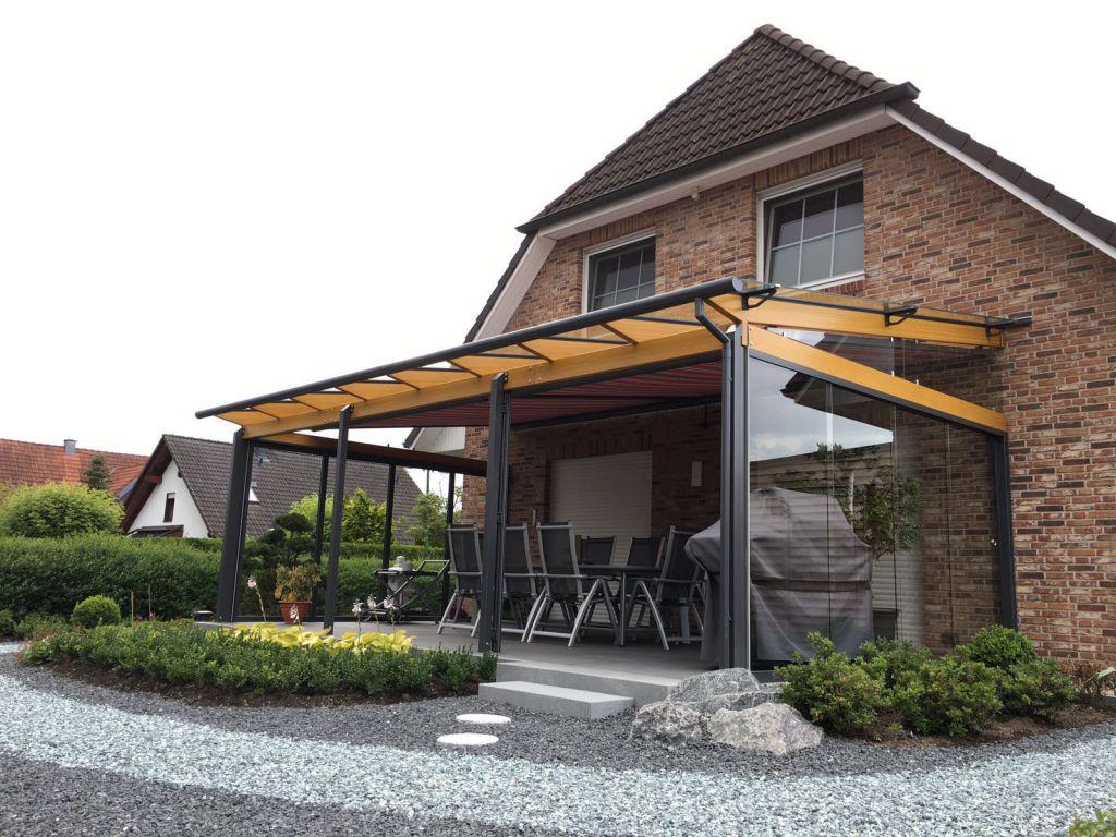 ᐅ Solarlux Terrassenüberdachung Hamburg & Pinneberg | Sonne ... Alu Und Holz Terrassenuberdachungen Geschutzt