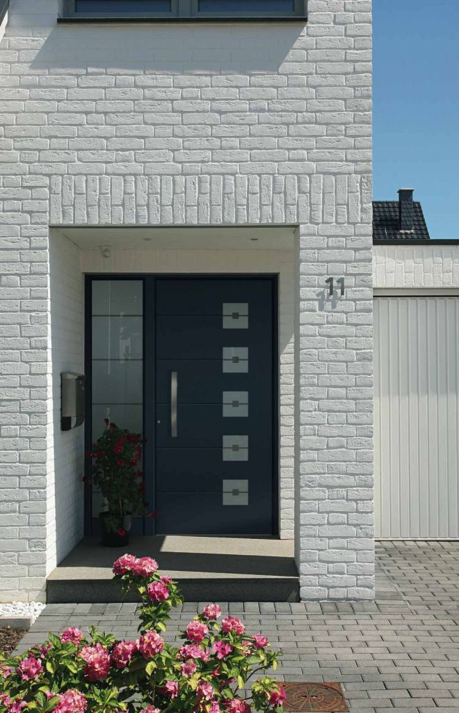 Moderne Aluminium Haust Ren Von Kompotherm Ausstellung