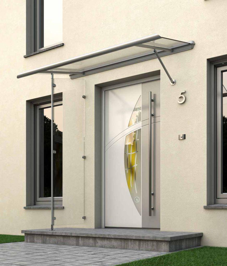 Haustürvordach Mit Seitenteil sonne rundum gmbhᐅ glas vordächer für haustüren sonne rundum gmbh