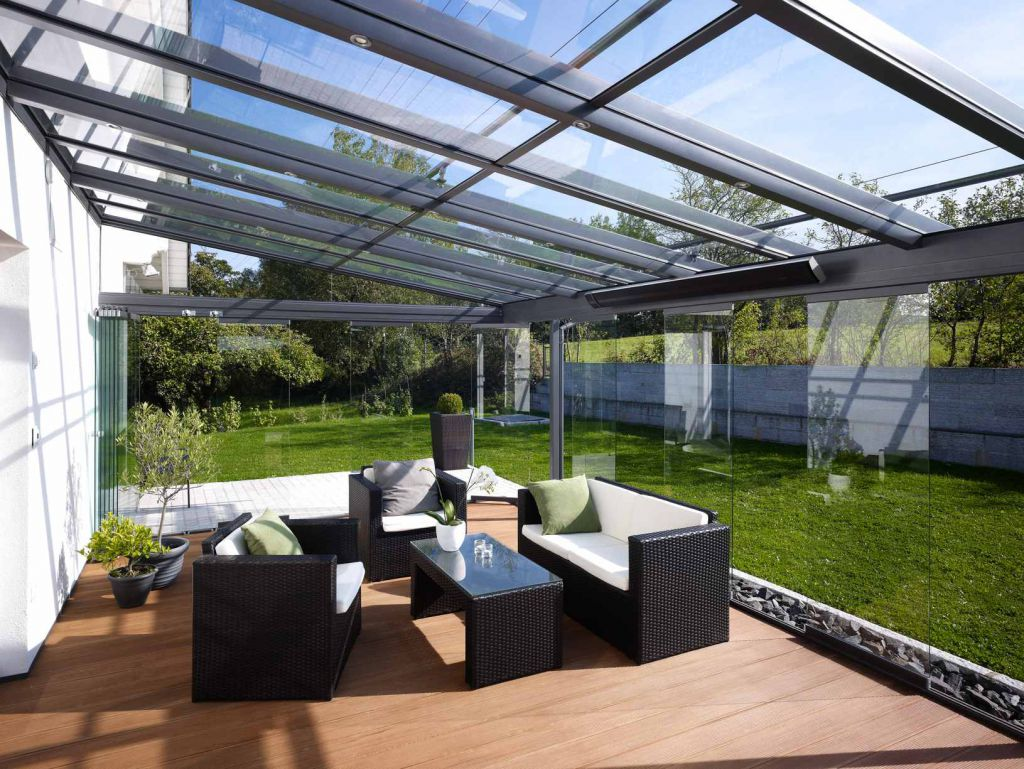 Solarlux terrassendach sdl atrium plus aluminium sonne rundum gmbh - Enclosed balcony design ideas oases of serenity ...