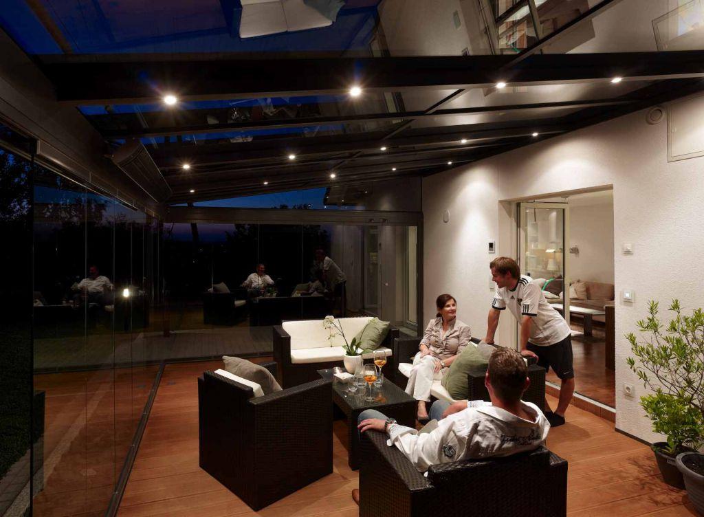 ᐅ Solarlux Terrassendach Sdl Atrium Plus Aluminium Sonne