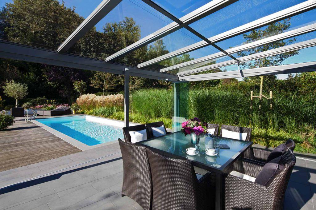 solarlux terrassendach ambition aluminium. Black Bedroom Furniture Sets. Home Design Ideas