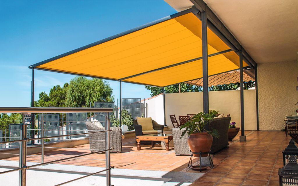 Markilux pergola 210 sonne rundum gmbh - Toldos para patios exteriores ...