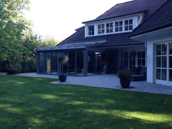 Aussenansicht Solarlux Wintergarten in Ahrensburg