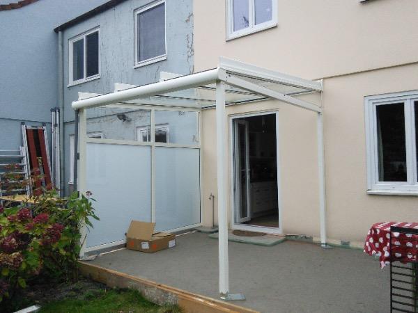 Installation Solarlux Glashaus in Hamburg
