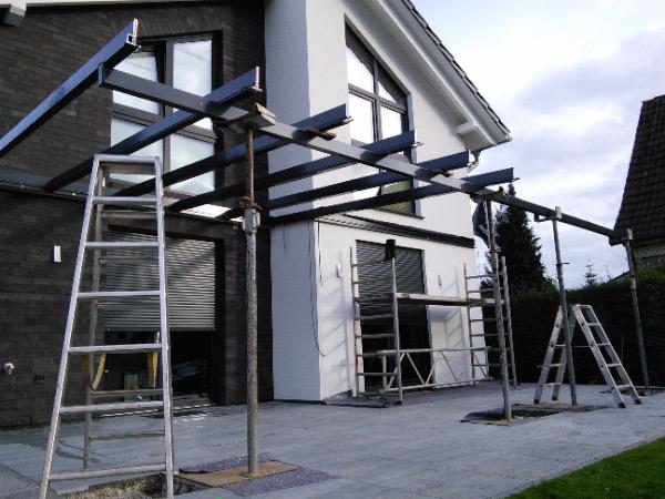 Installation Solarlux Atrium Plus Terrassenüberdachung in Hamburg