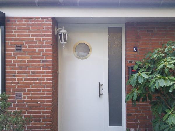 Aussenansicht Haustür Kompotherm KOtherm 96 in Hamburg-Eidelstedt