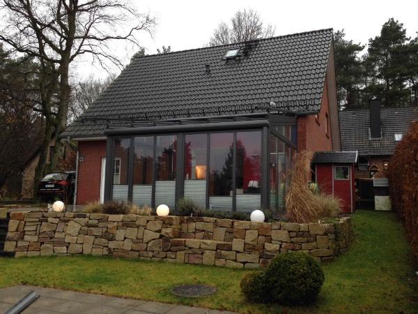 Solarlux Wintergarten Akzent Plus aus Aluminium in Buchholz