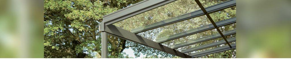 Weinor Terrassendach aus Glas