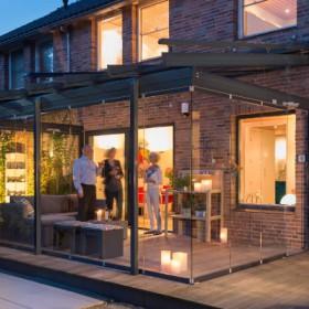Aussenansicht Solarlux Glashaus