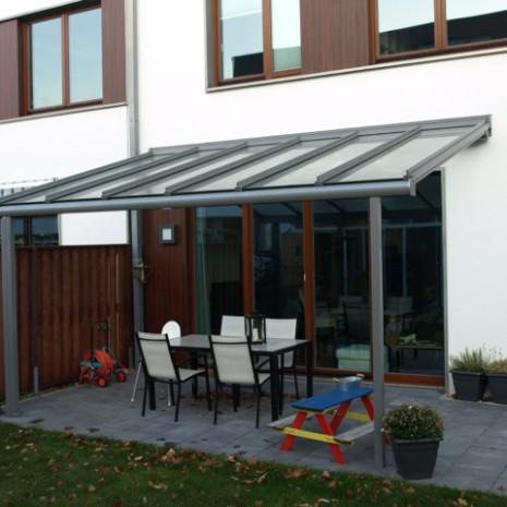 Solarlux Atrium Terrassenüberdachung in Hamburg