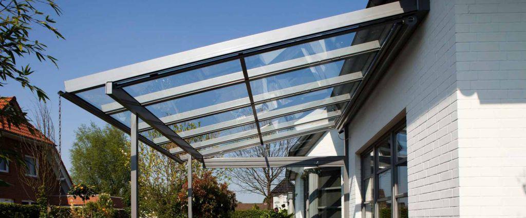 Solarlux Terrassendach Modell Atrium