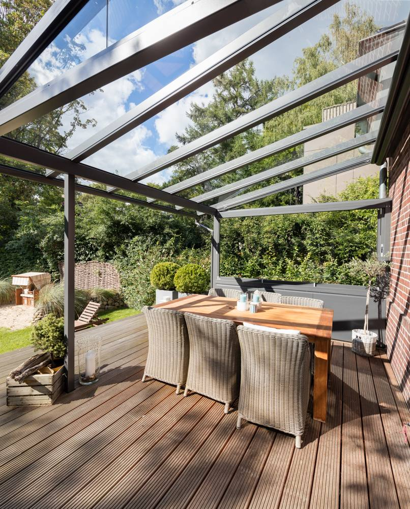solarlux terrassendach sdl atrium plus aluminium sonne. Black Bedroom Furniture Sets. Home Design Ideas