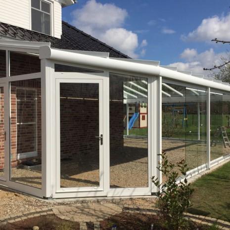 Aussenansicht Solarlux Glashaus in Rellingen