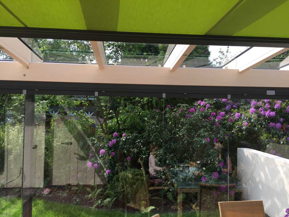 Solarlux Glashaus SDL Aura Holz-Alu in Appen
