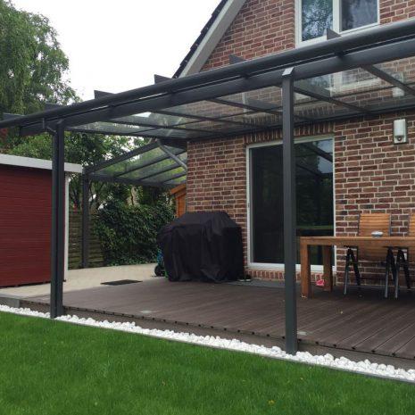 Solarlux Terrassenüberdachung und Carport in Pinneberg