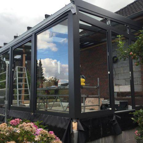 Solarlux Wintergarten in Henstedt-Ulzburg Installation