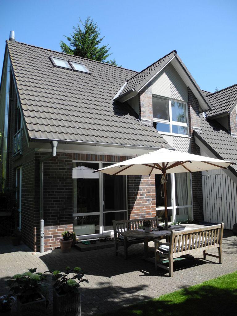 Vor der Installation der Solarlux Terrassenüberdachung Atrium Plus in Buchholz