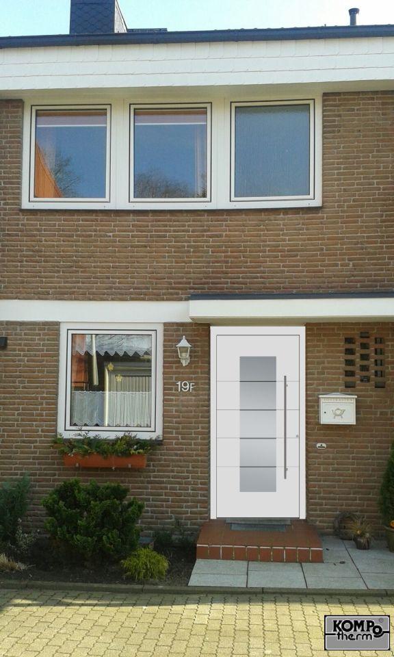 Visualisierung der Kompotherm 310 Haustür in Halstenbek