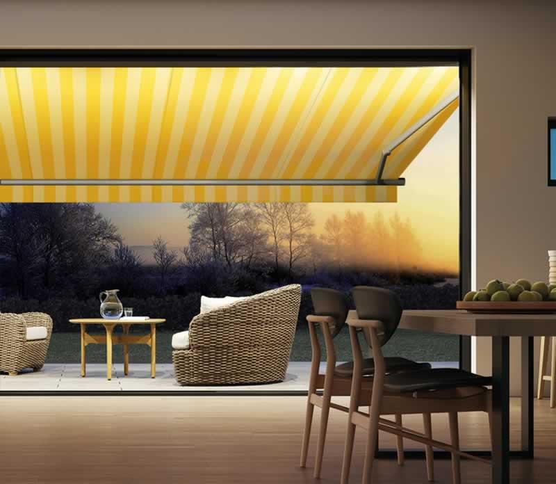 Markisen für Balkon und Terrasse