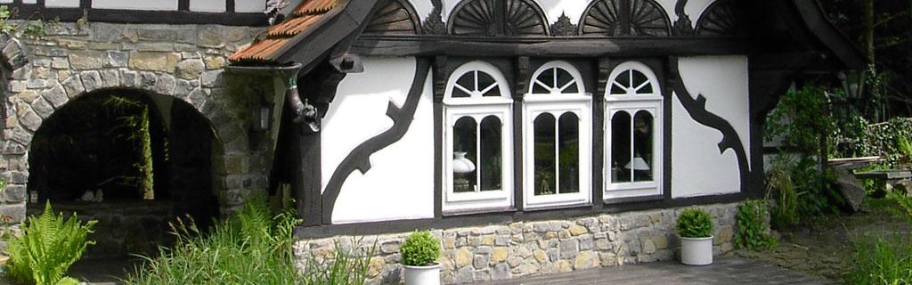 Aussenansicht Holzfenster