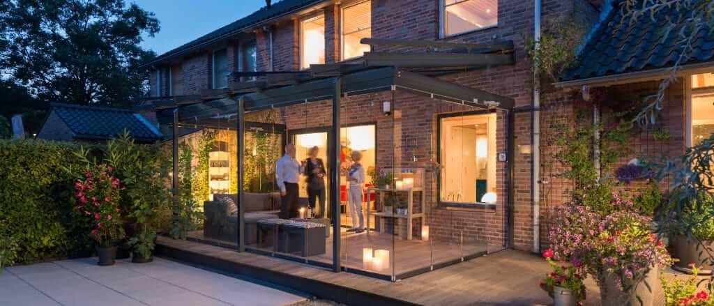 Solarlux Glashaus SDL Atrium Plus als Glashaus in schwarz-anthrazit von Sonne Rundum in Hamburg