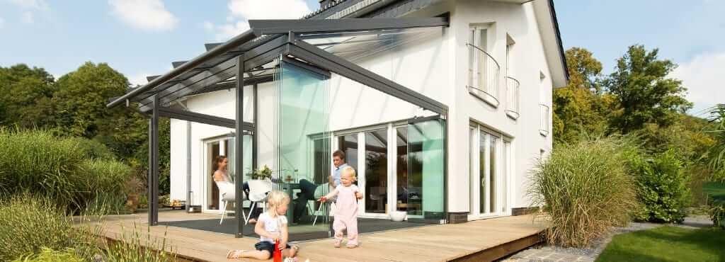 Solarlux Glashaus SDL Atrium Plus mit Hoher Traversenverglasung von Sonne Rundum in Hamburg
