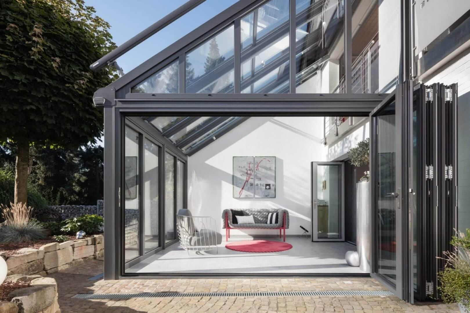 SDL Akzent Plus-Solarlux-Dachneigung bis zu 45° von Sonne Rundum in Hamburg